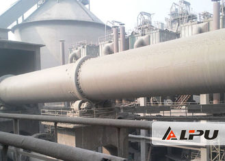 Chiny 55kw Wet And Dry Process Cement Rotary Kiln Cement Plant , Steel Mill / Rotary Lime Kiln dostawca