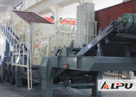 Chiny Portable Combined Mobile Stone Crusher Plant With Double - Axle Tyre fabryka