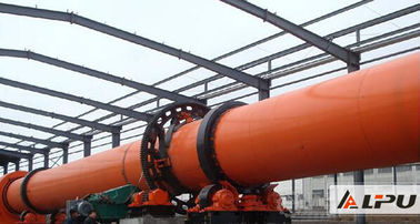 Chiny Professional Cement Plant Rotary Kiln Dryer With Capacity 400t/h ISO CE IQNet fabryka