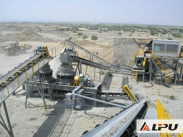 Chiny Efficient Basalt Stone Jaw Crushing Plant , Quarry Crushing Equipment dystrybutor