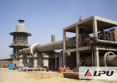Chiny 1.4×33 Energy Saving Cement Rotary Kiln For Wet / Dry Cement Production fabryka