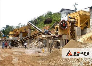 Chiny Customized Rock Crushing Equipment , Complete Stone Crushing And Screening Plant fabryka