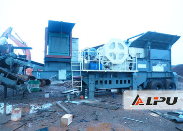 Chiny Reasonable Matching Mobile Crushing Plant 54t Portable Rock Crusher fabryka