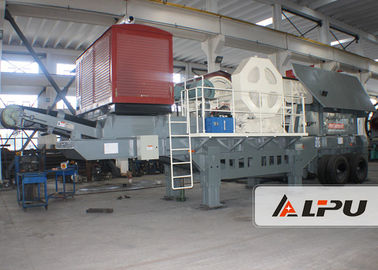 Chiny Good Mobility Portable Stone Crusher Machine Mobile Jaw Crusher Plant fabryka
